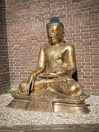 Special large bronze Buddha statue