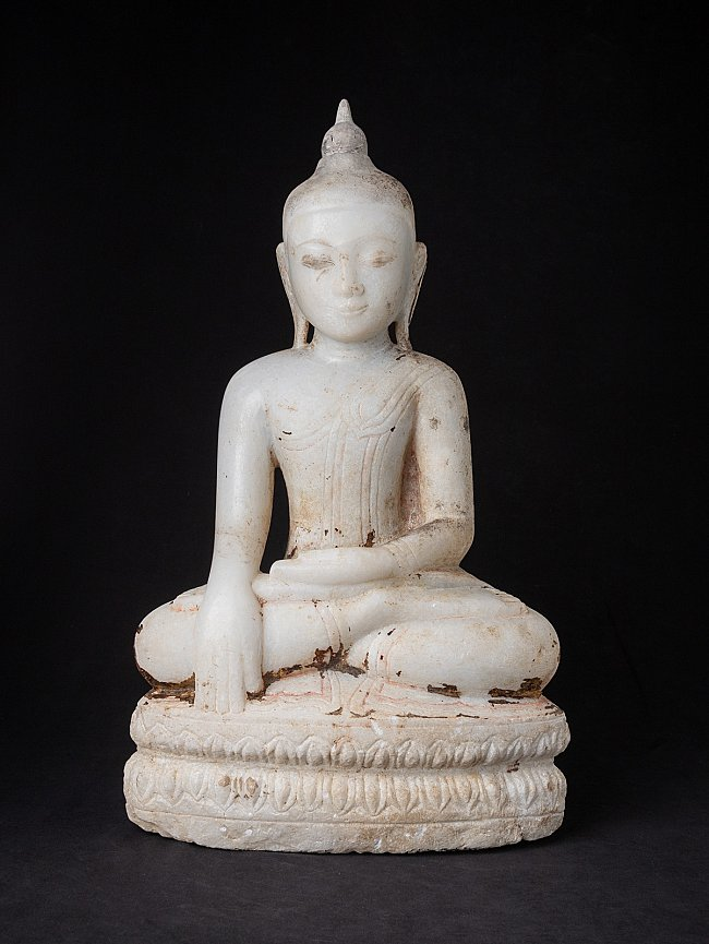 Antique marble Burmese Buddha