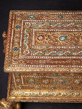 Antique Burmese box for Manuscripts