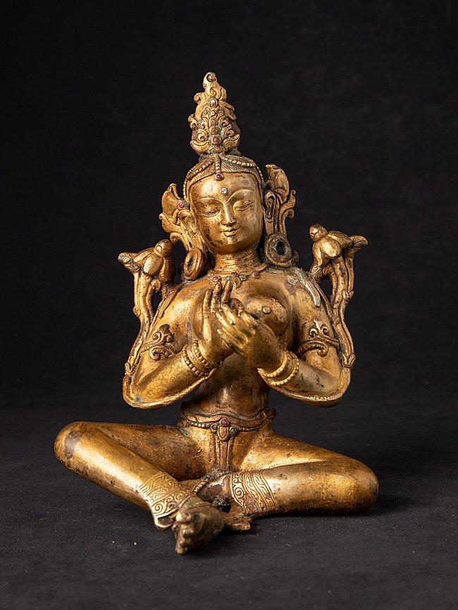 Old Nepali bronze Tara statue