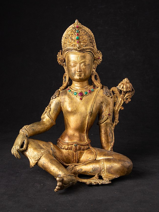 Old bronze Nepali Indra statue