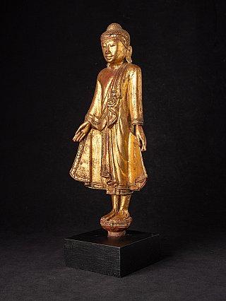 Antique wooden Mandalay Buddha