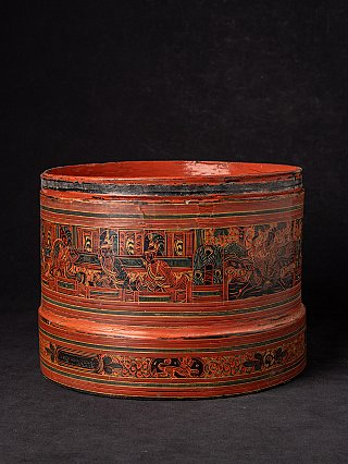 Antike burmesische Betel Nüsse Box