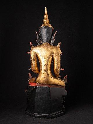 Antike Birmanische Shan Buddhafigur