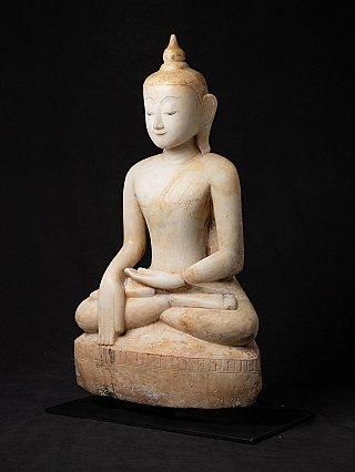 Special Burmese alabaster Buddha statue