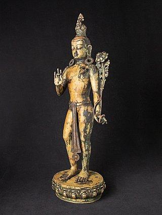 Antique Nepali lokeshwor statue
