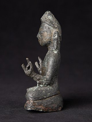 Antique bronze Pyu Buddha statue