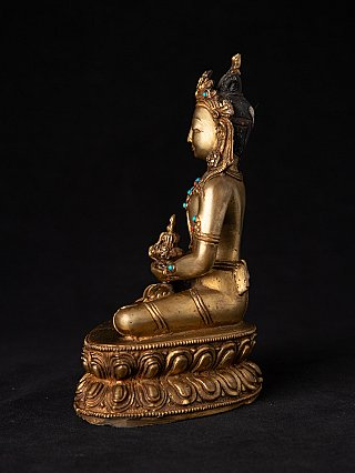 Antique bronze Nepali Aparmita Buddha statue