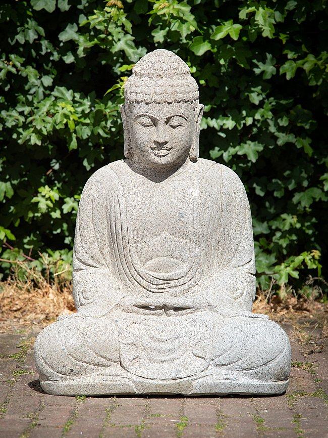 Andesiet stenen Boeddhabeeld