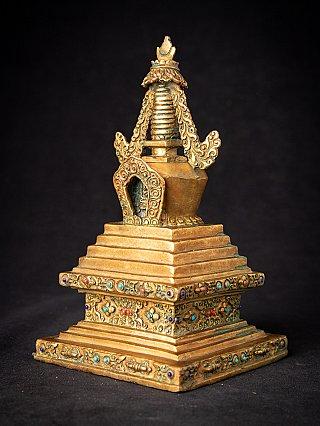 Old Nepali bronze Stupa