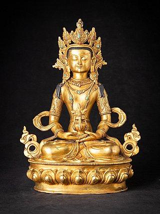 Bronzen Nepalese Aparmita Boeddha