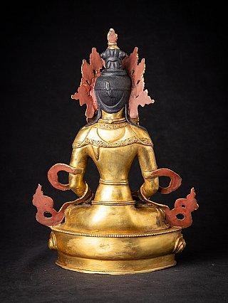Bronze Nepali Aparmita Buddha statue