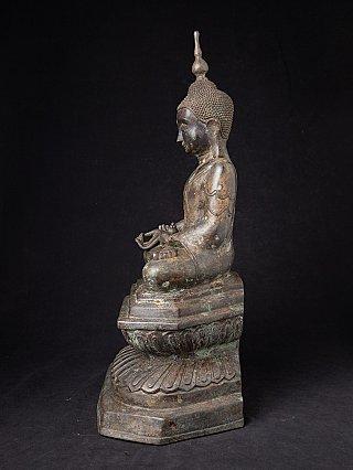 Antieke bronzen Birmese Boeddha