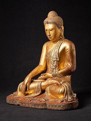 Large antique Burmese Buddha statue