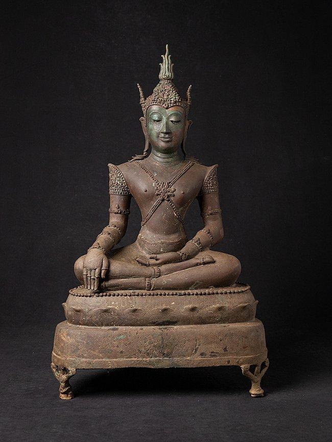 Antieke bronzen Thaise Lanna Boeddha