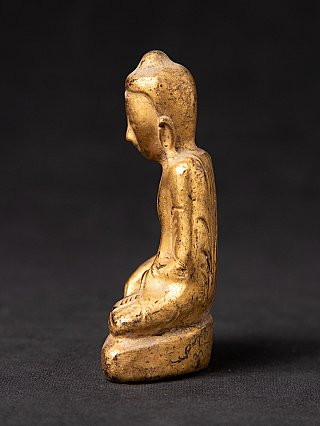 Small antique Burmese Buddha statue