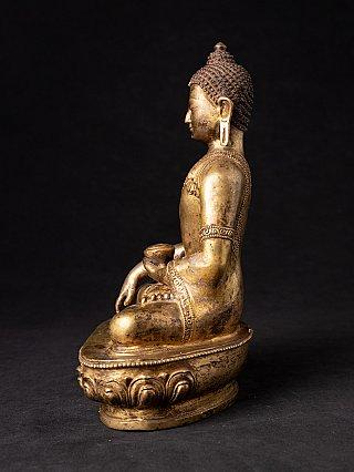Alte Nepalesische bronze Buddhafigur