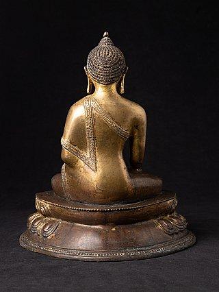 Bronzen Nepalees Boeddhabeeld