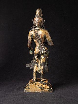 Antique Nepali bronze Bodhisattva