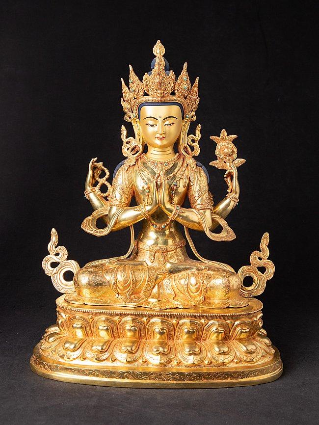 High quality bronze Chenrezig statue