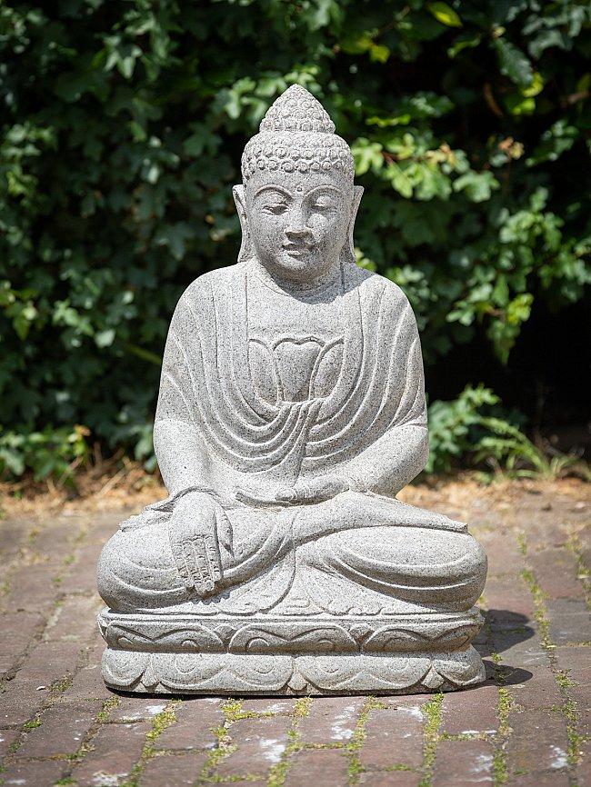 Andesite Stein Buddhafigur