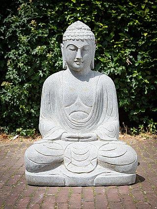 Antesite stone Buddha statue
