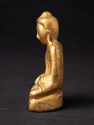 Antieke houten Shan Boeddha