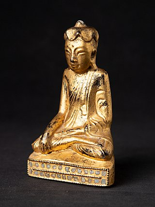 Antique Burmese Lotus Buddha statue