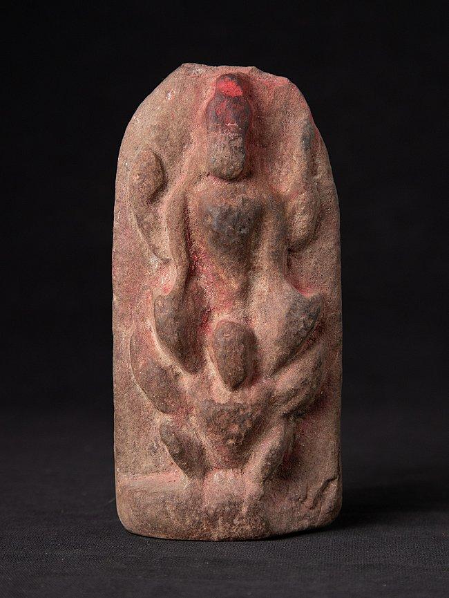 Antique stone Nepali Vishnu statue