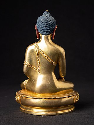 High quality Nepali gold-face Buddha statue