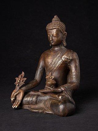 Bronze Nepali Medicine Buddha
