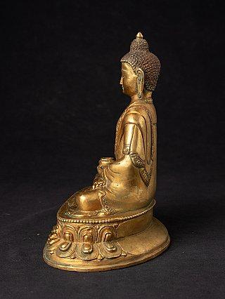 Old Nepali bronze Buddha statue