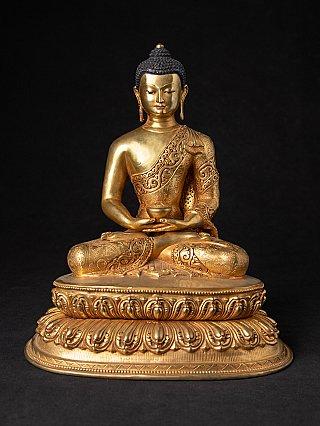 Hoge kwaliteit Nepalese bronzen Boeddha
