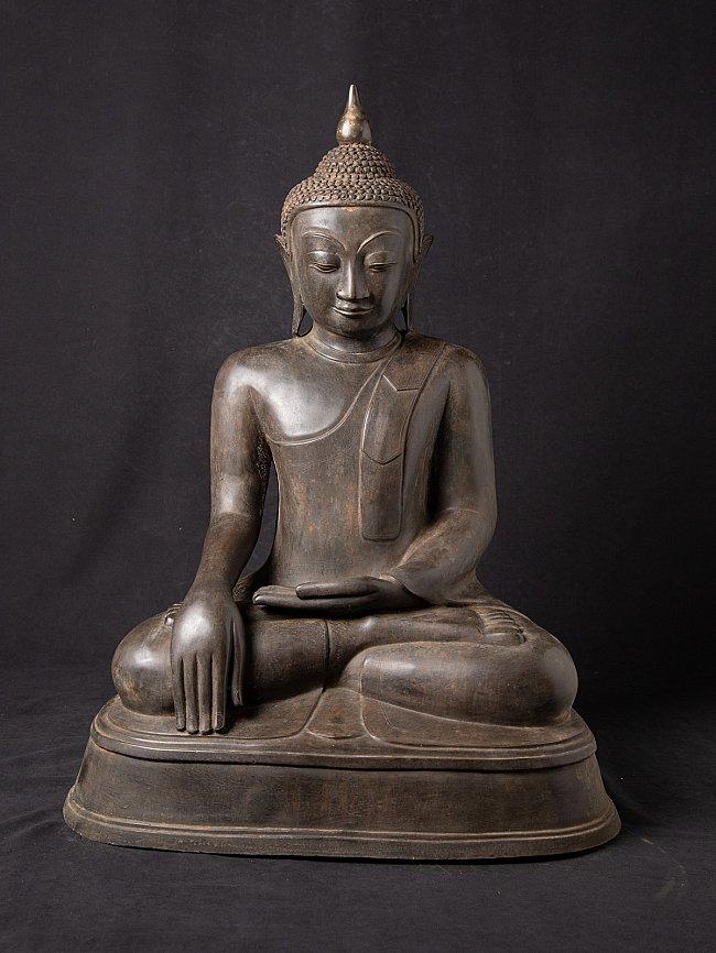 Alte bronze Birmanische Buddhafigur