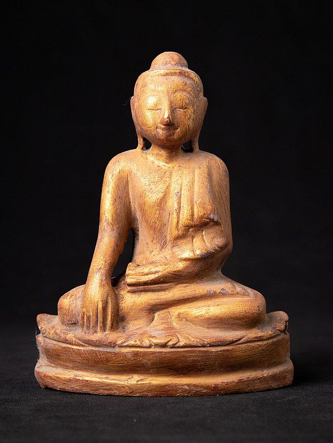 Oude Birmese marmeren Mandalay Boeddha
