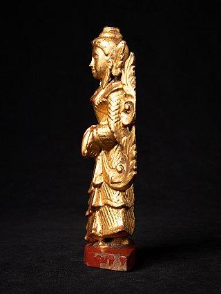 Antique Burmese standing Nat statue