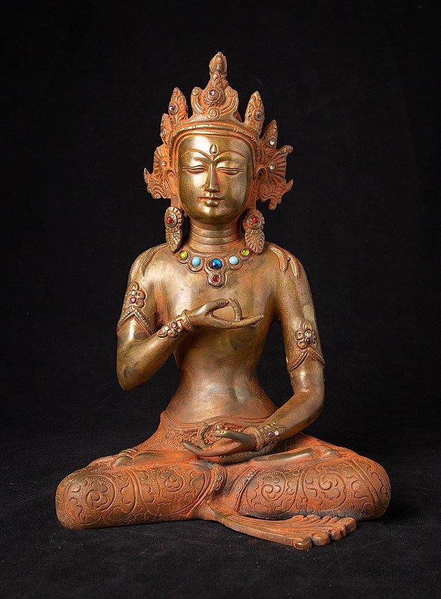 Bronze Vajrasattva statue