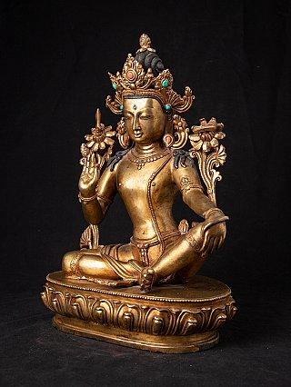 Old Nepali bronze Bodhisattva
