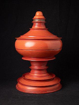 Antique Burmese offering vessel