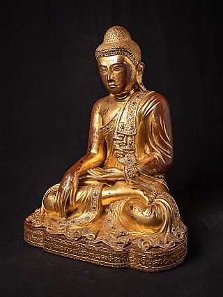 Very beautiful antique Burmese Mandalay Buddha statue