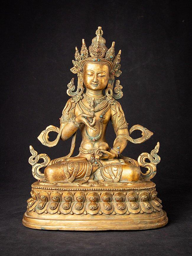 Old bronze Nepali Vajrasattva statue