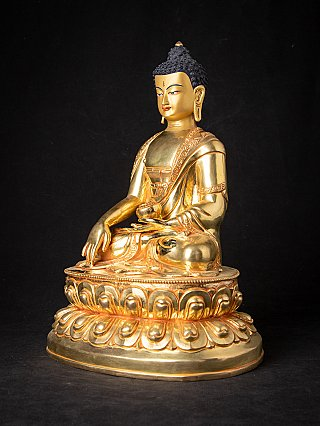 High quality Nepali bronze Buddha statue