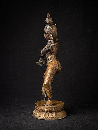 Antique Nepali bronze Dakini statue