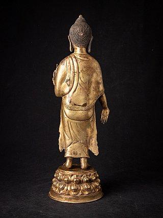 Alte bronze Nepali Buddhafigur