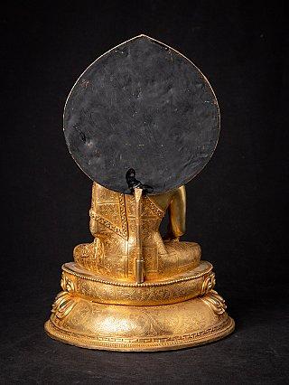 High quality Nepali bronze Buddha statue