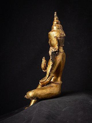 Oud Nepalees bronzen Lokeshwor Beeld