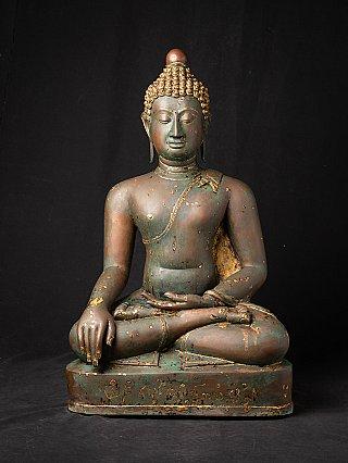 Antique bronze Chiang Saen Buddha