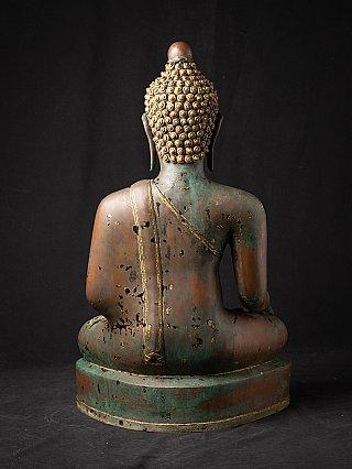 Antieke bronzen Chiang Saen Boeddha