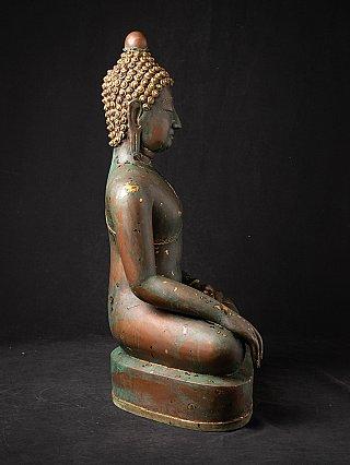 Antike bronze Chiang Saen Buddha