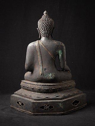 Bijzondere antieke bronzen Chiang Saen Boeddha